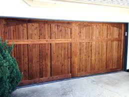 cedar garage doors 4 solid wood garage doors for cedar garage doors
