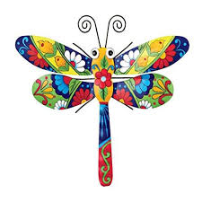 color butterfly colorful metal mexican talavera style garden wall art description festive designs and bold on talavera style wall art with colorful metal mexican talavera style garden wall art butterfly