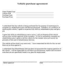 Motor Vehicle Sale Agreement Template Auto Sales Contract Free Enchanting Auto Purchase Agreement Form