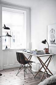 black white home office inspiration. Home Office Inspiration Black White N
