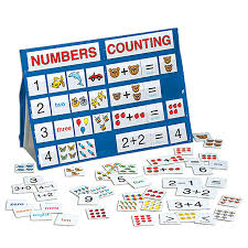 Learning Center Pocket Chart Numbers Counting