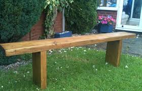 modern patio and furniture medium size solid outdoor table reclaimed rustic chunky pine garden bench seat