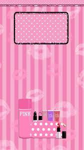 pink victoria secret lockscreen