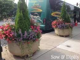 flower pots outdoor planter design