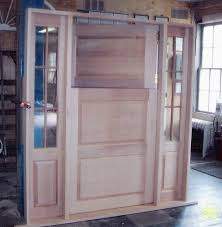 custom wood doors interior exterior french arch top storm screen millwork