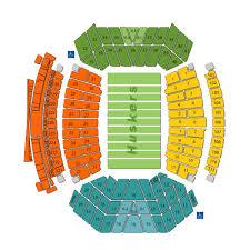 Hawkeye Football Seating Chart Iowa Hawkeyes Football At Nebraska Cornhuskers Football 2019