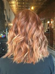 Natural Red Hair With Subtle Blonde