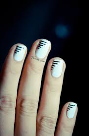 Simple Nail Art Designs Lines - Best Nails 2018