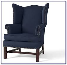 navy blue bedroom chairs bedroom home design ideas navy blue wingback chair slipcover
