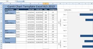 Creating Gantt Chart Template Excel Xls 2010 Excel Xls Templates