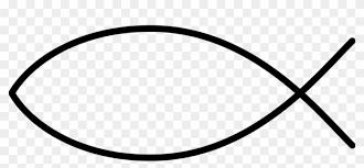 Christian Fish Symbol Clip Art Simple Fish Outline Free