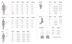 Ktm Jacket Size Chart Mens Jacket Mallet