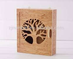 Decorative Key Boxes Custom Cheap Wall Wooden Key CabinetDecorative Wall Key Box With 8