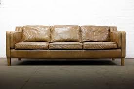 scandinavian leather furniture. SCANDINAVIAN DESIGN VINTAGE 3 SEATER BROWN LEATHER SOFA - FREE UK DELIVERY Scandinavian Leather Furniture