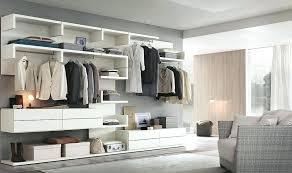Open Closet In Bedroom Delightful Ideas Open Closet Storage Shelving