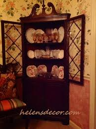 Decorating Corner China Cabinets Helen S Decor