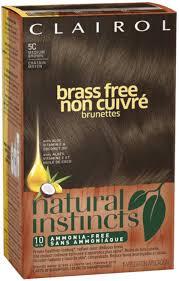 Natural Instincts Brass Free Hair Color Medium Brown 5c 1 Ea Pack Of 2 Walmart Com