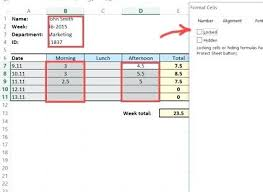Timesheet Excel Spreadsheet Daily Template Time Card Calculator ...