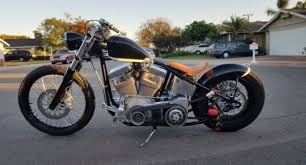 special construction bobber motorcycle custom cafe racer