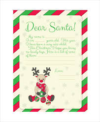 Free Letter From Santa Word Template Blank Letter From Santa Template Magdalene Project Org