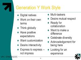 Generation Y Work Ethic Gen Y Work Ethic Koran Opencertificates Co