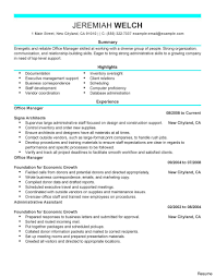 Executive Administrative Assistant Resume Administration Office Support Executive Assistant Standard 72