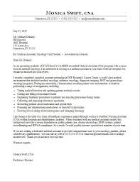 Cover Letters For Recent Graduates Medical Assistant Cover Letter Sample Monster Com