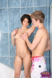 Amateur teen couple fucking under the shower Pichunter Online.