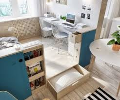 2 Simple, Super Beautiful Studio Apartment Concepts For A Young Couple  [Includes Floor Plans