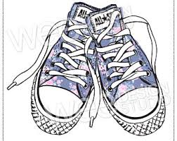 converse shoes clipart. pin converse clipart blue shoe #2 shoes t