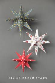Paper Christmas Tree Ornaments Best 20 Paper Christmas Decorations Ideas On Pinterest
