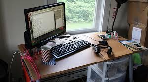 impressive office desk setup. nice programmer desk setup latest home design inspiration with ars staffers exposed our office setups impressive