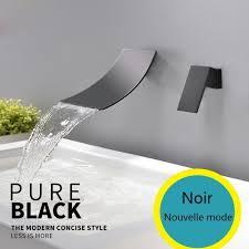orb waterfall basin faucet wall mounted