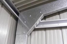 metal framing shed. Contemporary Framing Ranbuild Deluxe Sheds Knee Plate Buy Online Intended Metal Framing Shed L