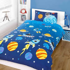 space rockets bed set