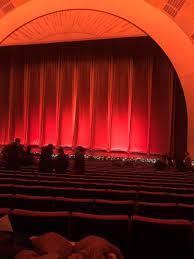 Radio City Music Hall Section Orchestra 3 Row Uu Seat 305
