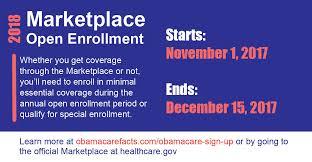 care open enrollment 2018