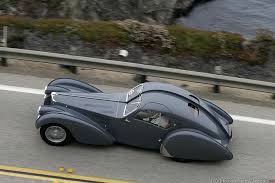 The bugatti type 57 sc atlantic has, as a result, come to be seen as one of the ultimate symbols of prewar automotive elegance, more rolling statue than car, and for once that isn't hyperbole. Bugatti Type 57sc Atlantic