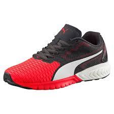 puma girl shoes. puma shoes uk   affordable girls ignite dual jr running in red blast- girl