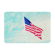 memory foam bath rugs east urban home robin inson usa colors flag rug