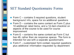 Office Of Measurement Services (Oms) Student Evaluation Of Teaching ...