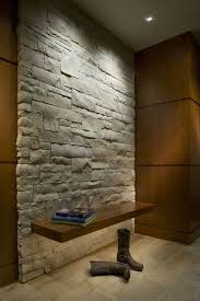 Wall accent lighting Build In Wall Trimless Square Aperture Recessed Accent Lights Graze Down The Stone Wall While Light Strip Underneath Creates An Illusion Of Light Is Passing Through The Home Guides Sfgate Trimless Square Aperture Recessed Accent Lights Graze Down The Stone