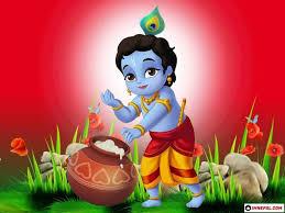 Baby Krishna Pics On Happy Janmashtami 2021
