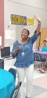 "Sienna Crossing on Twitter: ""Our amazing new principal, Ms. Ida Ford, is  getting our teachers all ready for the new school year!… """