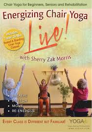 chair yoga for seniors dvd. chair yoga energizing live trio! dvd for seniors dvd f