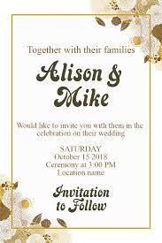 celebration invite wedding invitation invitation design template 108649