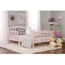 girls pink bedroom furniture. Girl Toddler Bed Sturdy Bedroom Furniture 2 Safety Rails Low Height Girls Pink | EBay