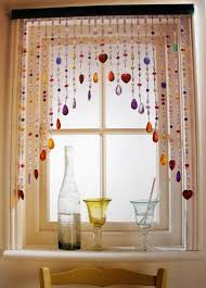 cool window curtains with multicolored of beads jpg 539