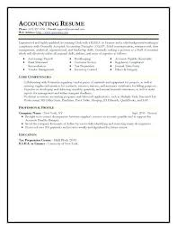 Example Of Accounting Resume Amazing Accounting Assistant Resume Job Responsibilities Accountant Examples