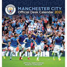 Manchester City FC Easel Calendar 2021 at Calendar Club